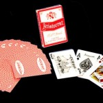 "Jeu de cartes ""Aristocrat"" du Casino Excalibur de Las Vegas en JUMBO index"