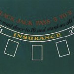 Smir - 550812 - jeu de casino - Tapis de Black Jack en feutre vert 183*93cm
