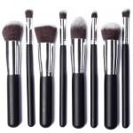 XCSOURCE® Kit de Pinceau maquillage Professionnel 8PCS Ombre à Paupière argent Blush Fondation Pinceau Poudre Fond de teint Anti-cerne Kit Pinceaux MT78